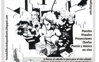 17ª Feria del libro independiente (flia) en parque España