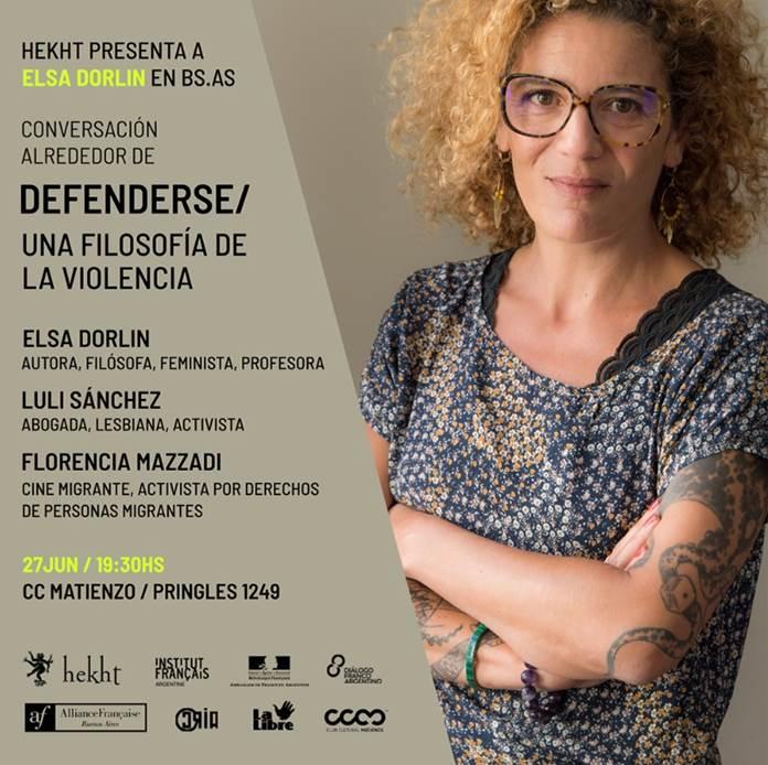 Hekht Presenta a Elsa Dorlin en Buenos Aires